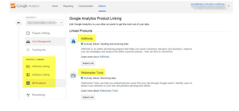 google analytics for education marketing
