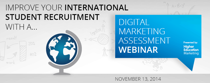 webinar marketing international higher education