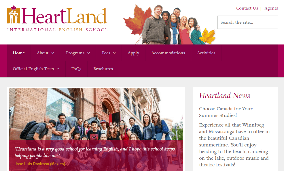 Heartland language school recruitment