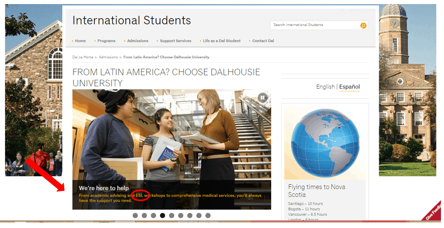 recruiting students from Latin America