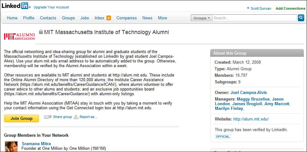 Why is LinkedIn important to your College and University