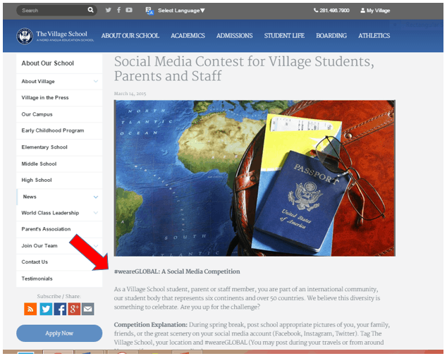 social media content strategy for student recruitment