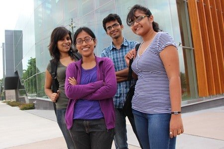 Visiting undergraduate engineering students from India interested in graduate studies at University of Windsor