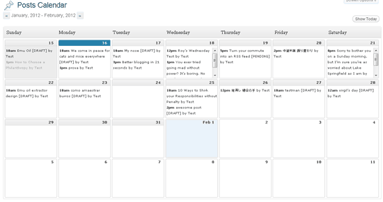Steps To Create An Efficient Editorial Calendar For Your Colleges - Social media editorial calendar template