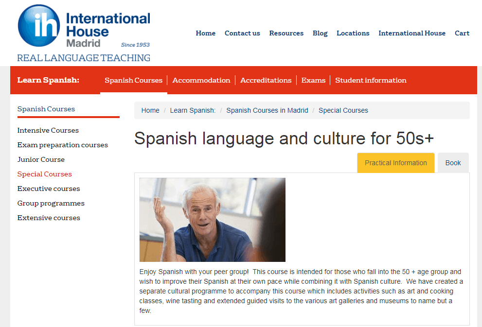 how to promote a language school
