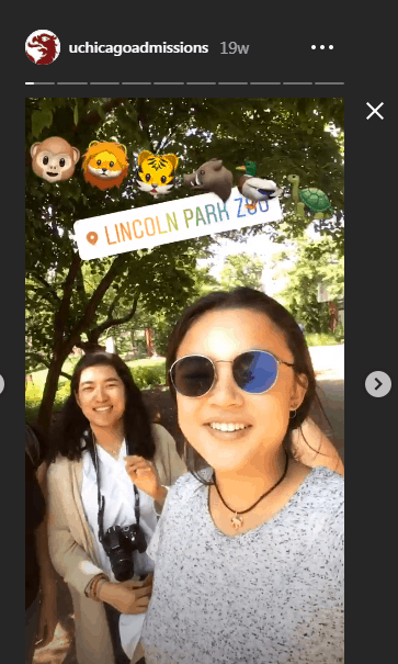 instagram stories for schools