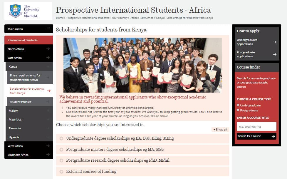 international student recruitment in kenya