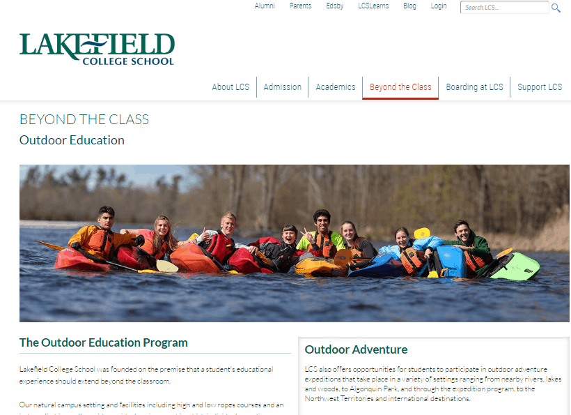 Lakefield College School Location