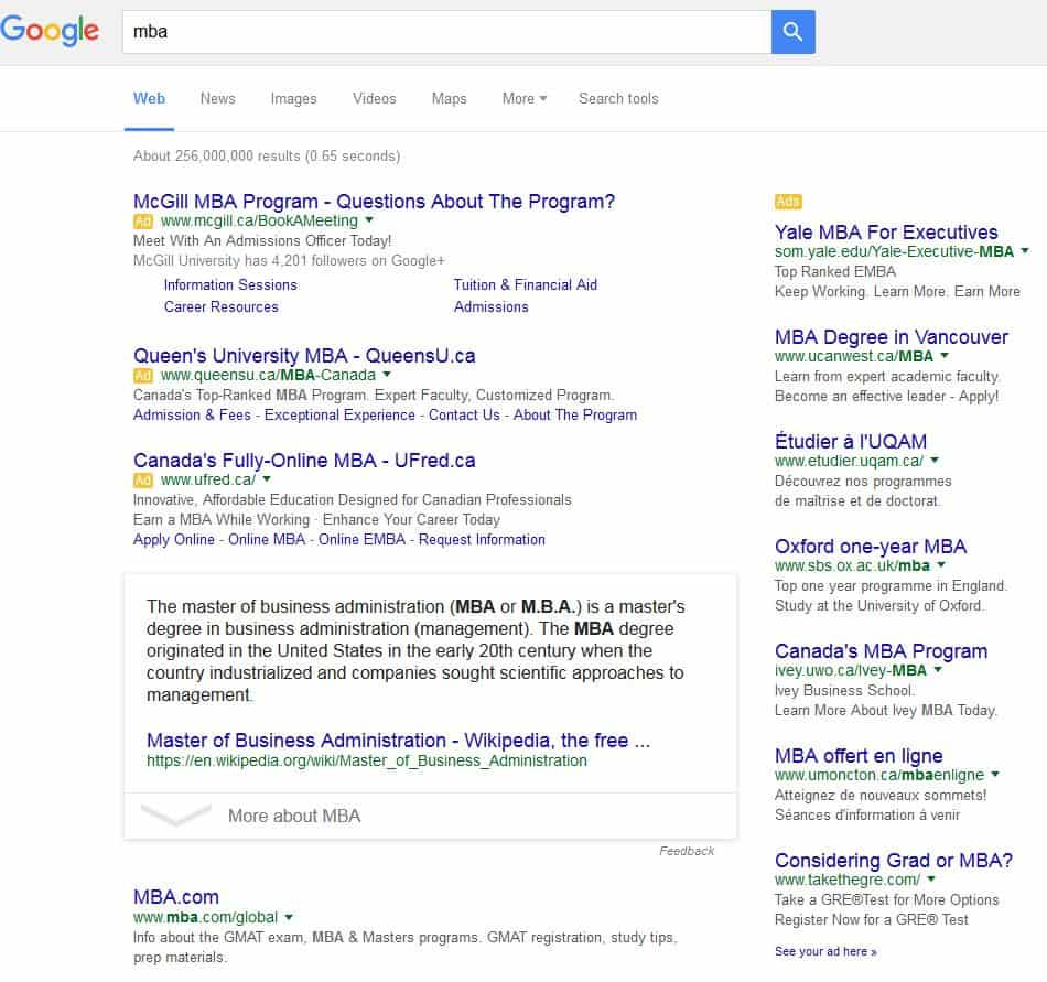 google results ppc marketing