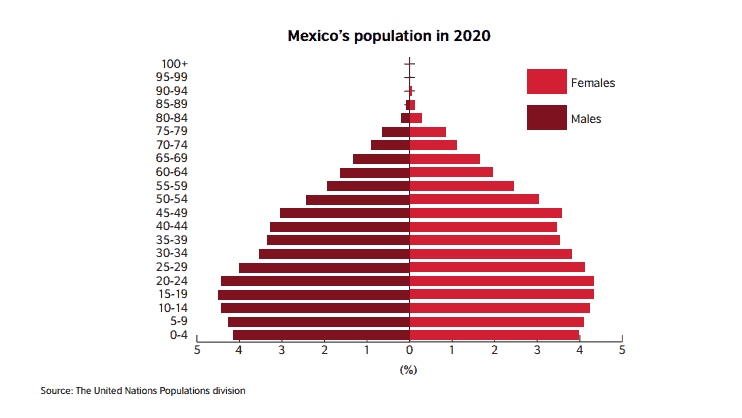mexico student population