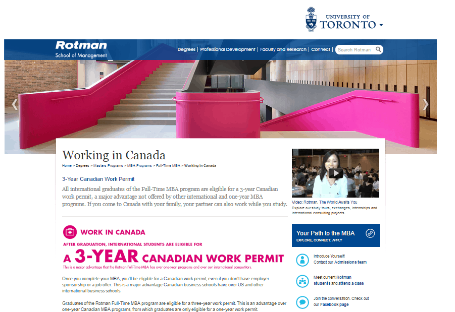 Rotman International Student Recruitment