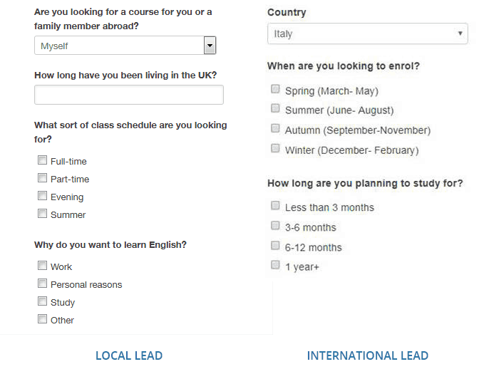 student inquiry follow-up form