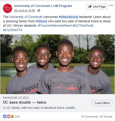 student recruitment in Ghana