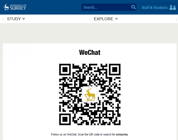 Using WeChat for Student Recruitment in China
