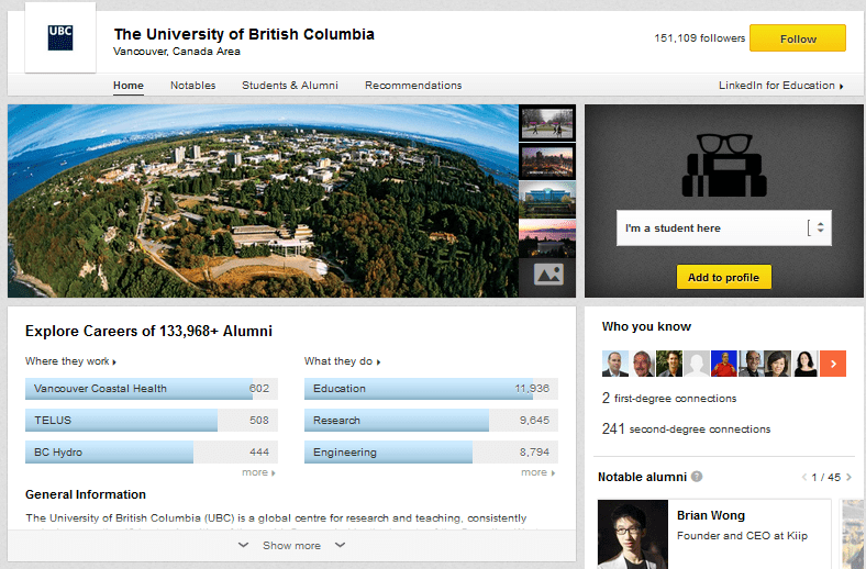 ubc social media marketing