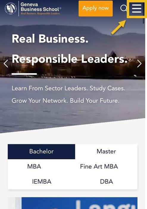 higher education web design UX