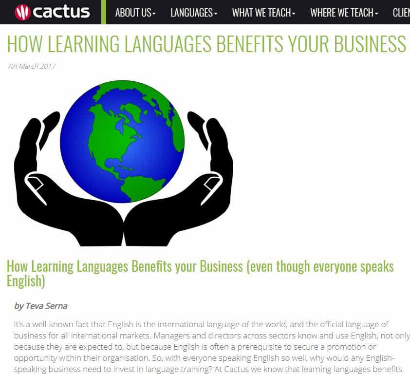 language school recruitment