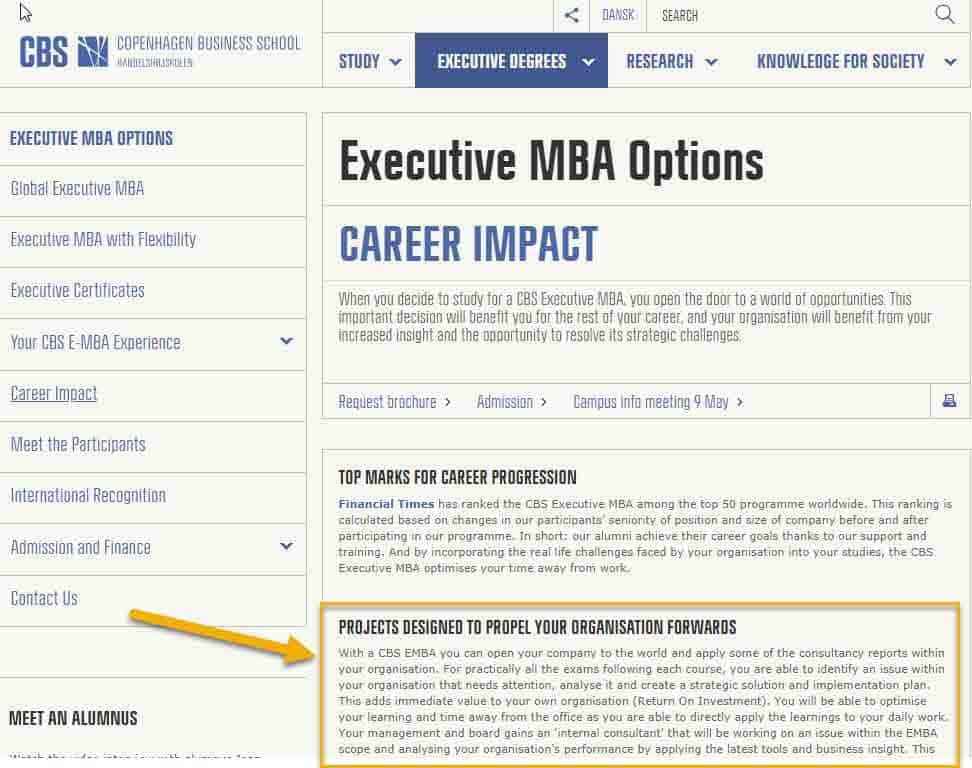 mba recruitment strategy