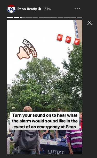 instagram social story for schools
