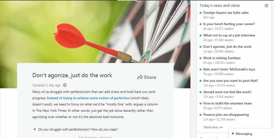 linkedin social listening for schools