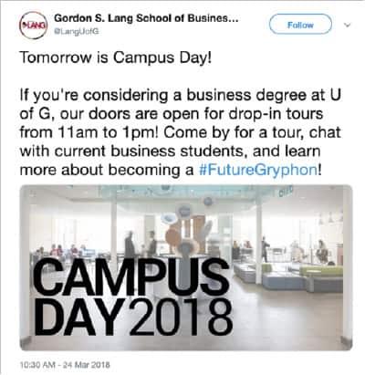 digital marketing for school events