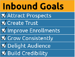 inbound marketing for schools