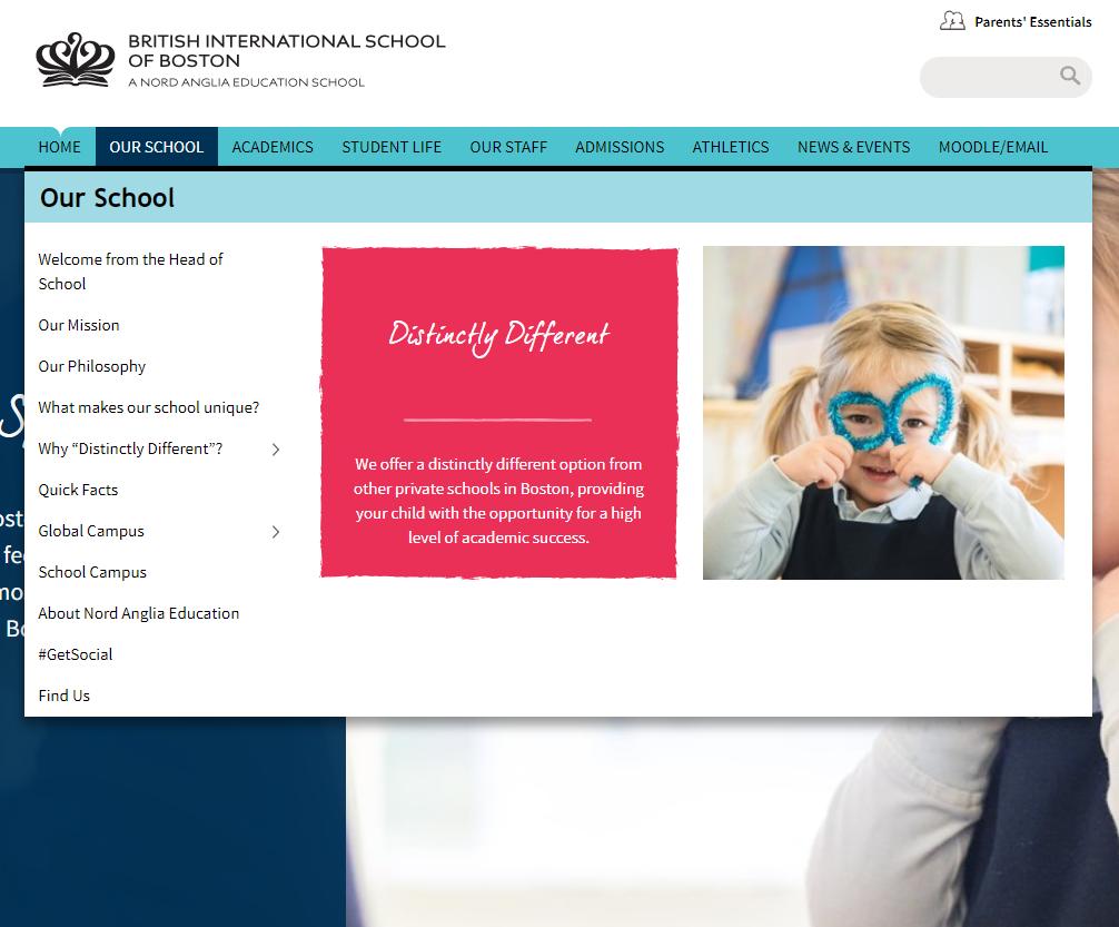 k-12 website design