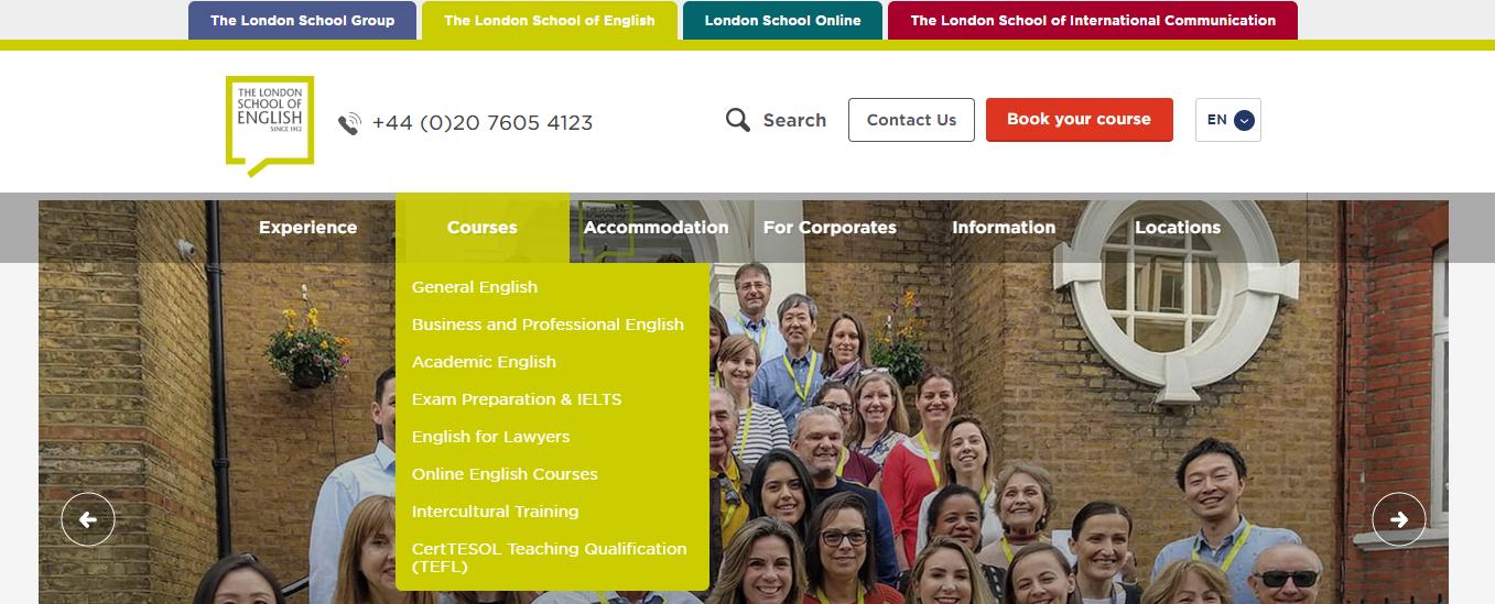 language school marketing audit