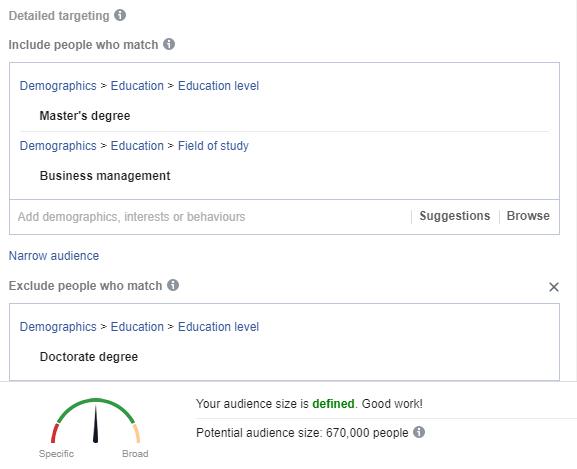 Facebook Ads barometer