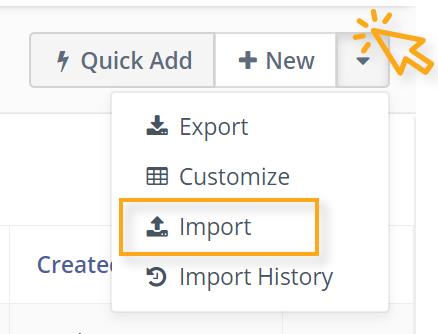 Import Button