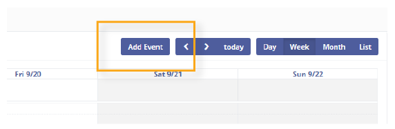 add event to Mautic