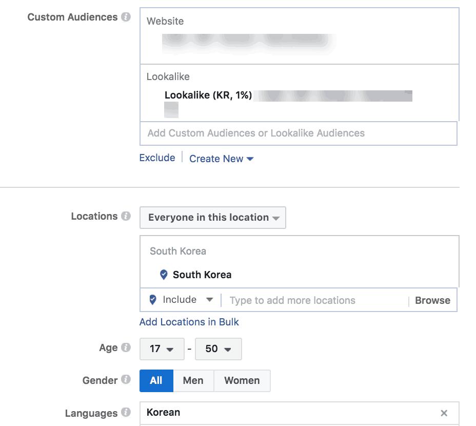 lookalike facebook campaigns