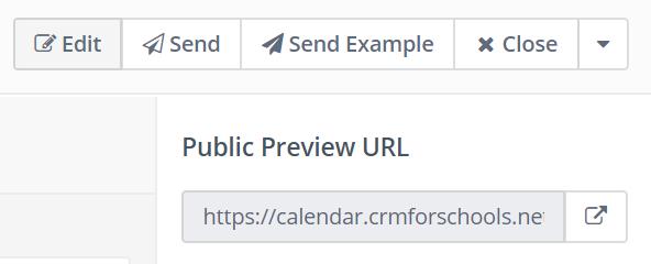 public preview URL
