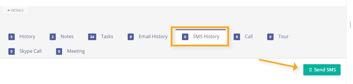 send sms via contact