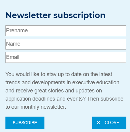 college newsletters
