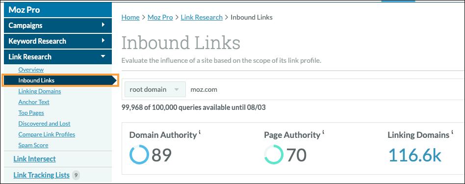 Inbound Marketing Links