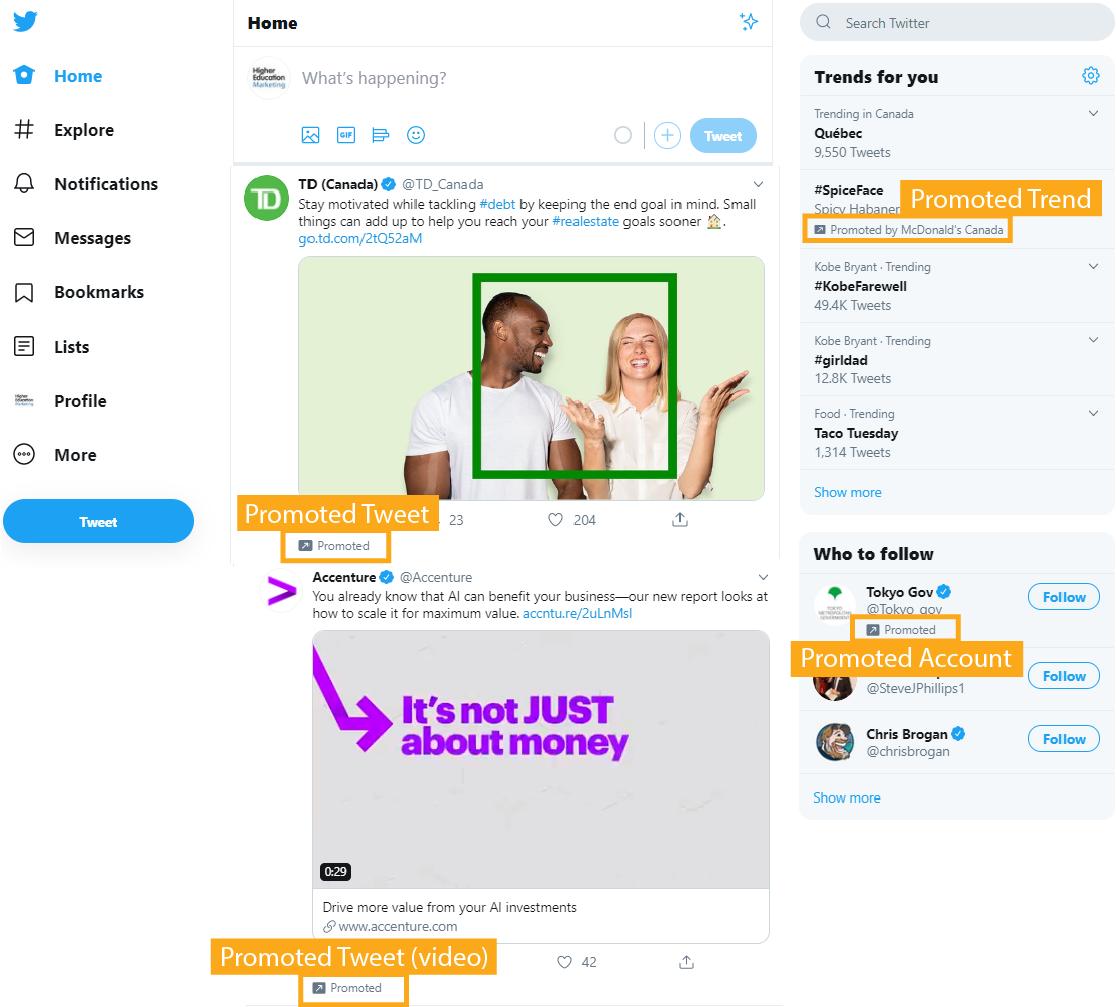 Twitter ads education