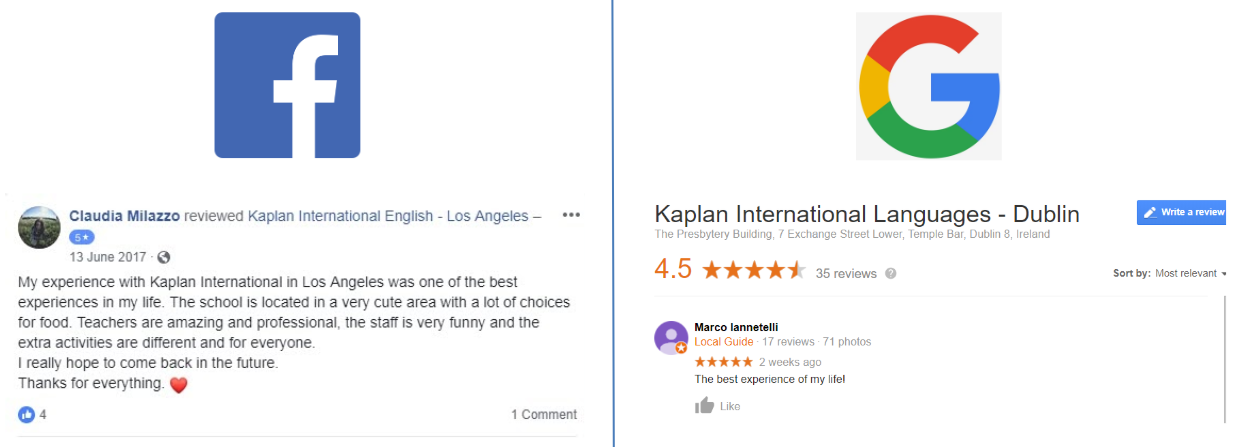 reviews for schools