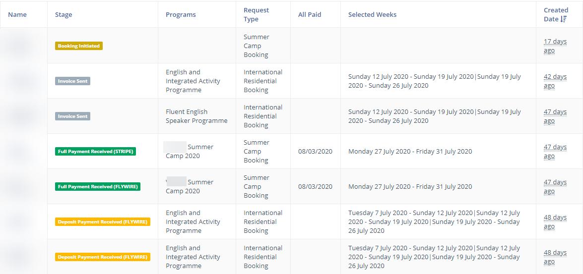 student application portal