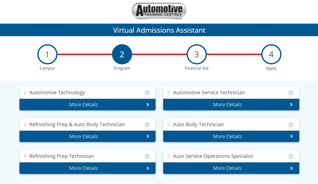 virtual admissions assistant