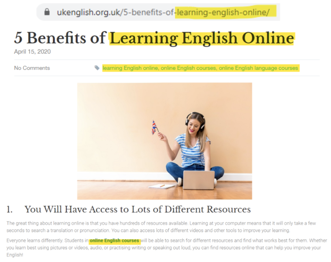promoting online courses