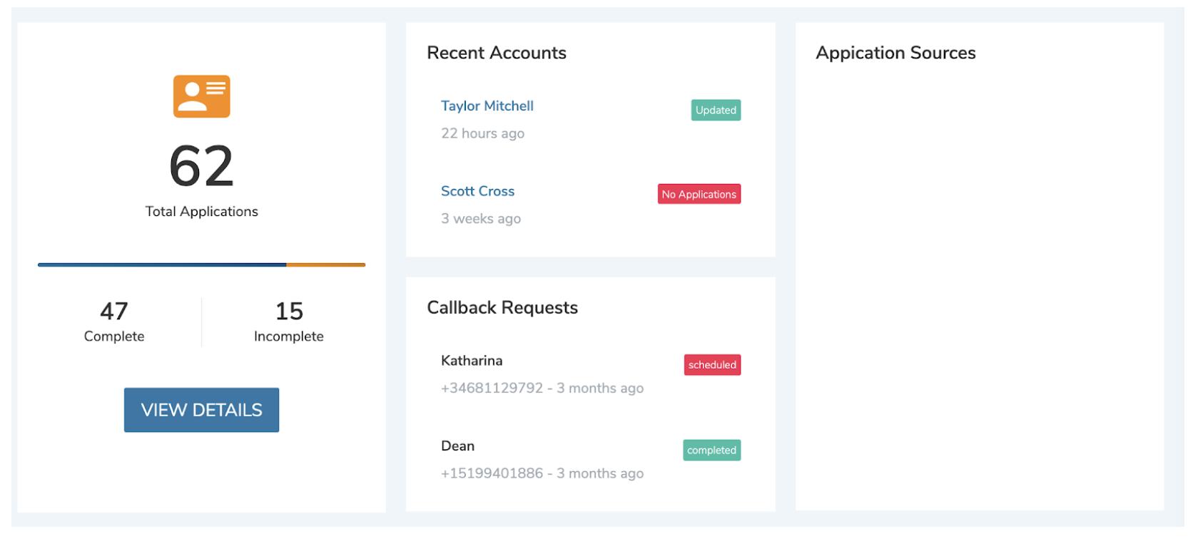 online application portal
