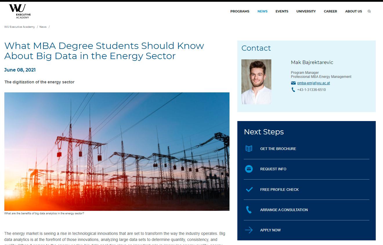business school content creation
