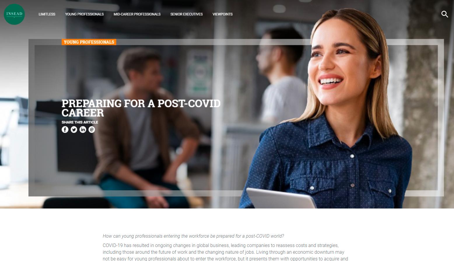 content strategies for business schools