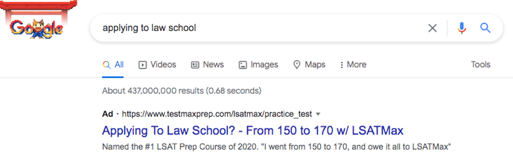Google ads for colleges
