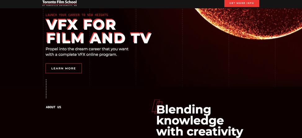 college website design