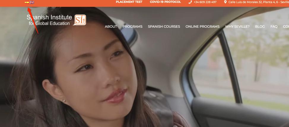 website design for higher education